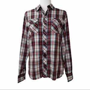 Van's Off The Wall Button Down    VGC